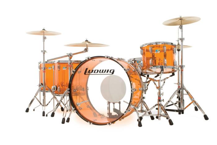 """Ludwig Vistalite """"Zep Beat"""" - cena ok. 15 000zł"""