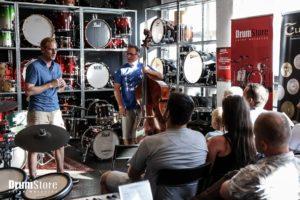 Warsztaty muzyczne dla perkusistów i basistów – Hornby & Lemańczyk