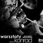 Już 23.10.18 (wtorek) warsztaty perkusyjne z Cezarym Konradem!