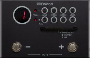 Roland TM-1 Trigger Module – moduł triggerowy, ala kostka gitarowa